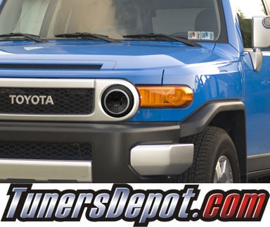 HID Xenon + KS® CCFL Halo Projector Headlights (Black) - 07-13 Toyota FJ Cruiser