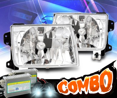 HID Xenon + KS® Crystal Headlights - 00-01 Nissan Xterra