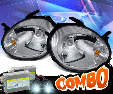 HID Xenon + KS® Crystal Headlights - 03-05 Dodge Neon
