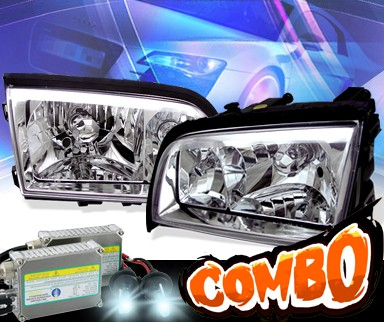 HID Xenon + KS® Crystal Headlights  - 94-00 Mercedes-Benz C230 Sedan W202