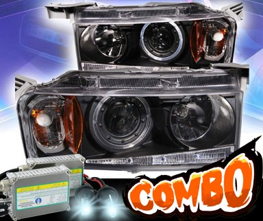 HID Xenon + KS® Halo Projector Headlights (Black) - 04-06 Scion xB
