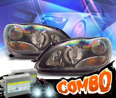 HID Xenon + KS® Projector Headlights (Black) - 00-06 Mercedes-Benz S430 W220