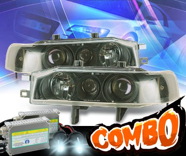 HID Xenon + KS® Projector Headlights (Black) - 90-93 Honda Accord
