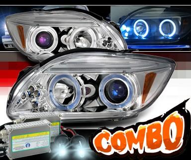 Hid Xenon Spec D Halo Projector Headlights Toyota Scion Tc W O Stock Projector Headlights Hid Jy Pro Ttc Led C M