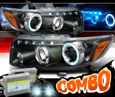HID Xenon + SPEC-D® Halo Projector Headlights (Black) - 08-10 Scion Xb