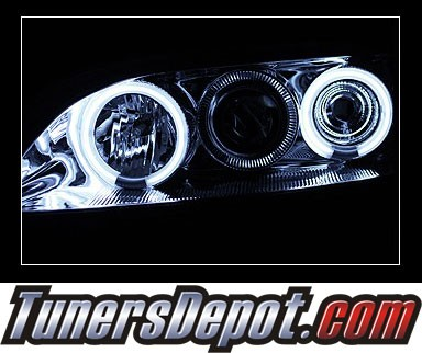 HID Xenon + Sonar® CCFL Halo Projector Headlights - 98-02 Honda Accord