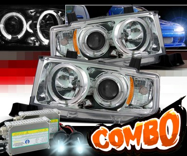 HID Xenon + Sonar® Halo Projector Headlights - 03-07 Scion xB