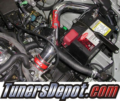 Injen® Cold Air Intake (Polish) - 02-03 Toyota Matrix XRS 1.8L 4cyl