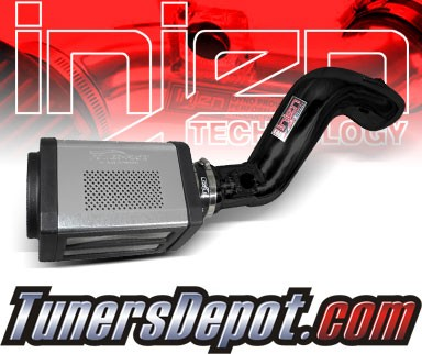 Injen® Power-Flow Cold Air Intake (Black Powdercoat) - 09-13 GMC Sierra 4.8L V8 (w/ Power-Box)