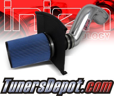 Injen® Power-Flow Cold Air Intake (Polish) - 02-06 Cadillac Escalade 5.3L V8 (w/ Heat Shield)