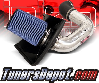 Injen® Power-Flow Cold Air Intake (Polish) - 03-07 Dodge Ram Pickup Cummins 5.9L L6 (w/ Heat Shield)