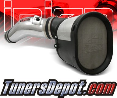 Injen® Power-Flow Cold Air Intake (Polish) - 03-07 Ford F-450 F450 Super Duty 6.0L V8 (w/ MAF Sensor)