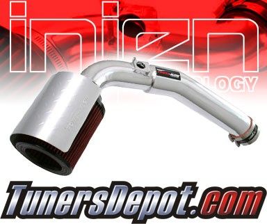 Injen® Power-Flow Cold Air Intake (Polish) - 04-06 GMC Canyon 3.5L 5cyl
