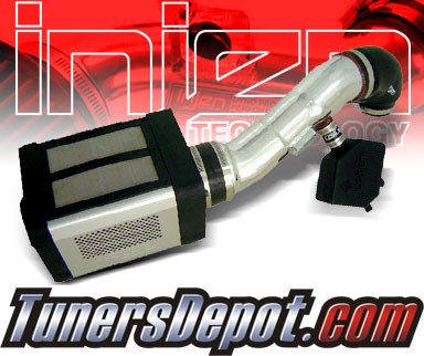 Injen® Power-Flow Cold Air Intake (Polish) - 04-10 Nissan Titan 5.6L V8 (w/ Power-Box)