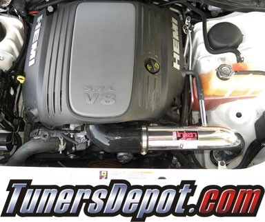 Injen® Power-Flow Cold Air Intake (Polish) - 05-10 Dodge Magnum 6.1L V8 SRT-8