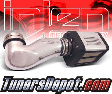 Injen® Power-Flow Cold Air Intake (Polish) - 05-10 Dodge Magnum 6.1L V8 SRT-8 (w/ Power-Box)