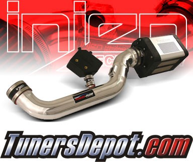 Injen® Power-Flow Cold Air Intake (Polish) - 05-11 Nissan Frontier 4.0L V6 (w/ Power-Box)
