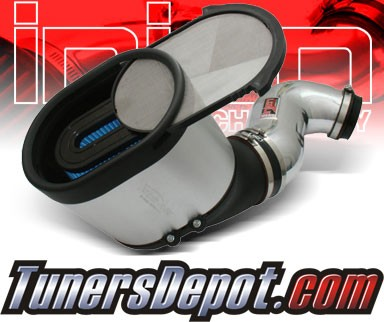 Injen® Power-Flow Cold Air Intake (Polish) - 06-07 GMC Sierra 6.6L V8 (w/ Power-Box)