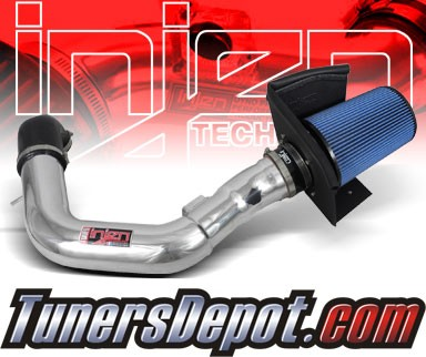 Injen® Power-Flow Cold Air Intake (Polish) - 06-08 Lincoln Mark 5.4L V8 (w/ Heat Shield)