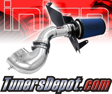 Injen® Power-Flow Cold Air Intake (Polish) - 07-09 Ford Mustang GT 4.6L V8 (w/ Heat Shield)