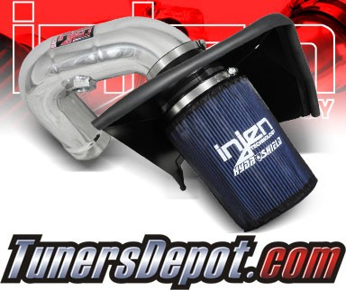 Injen® Power-Flow Cold Air Intake (Polish) - 08-09 Dodge Ram Pickup 6.7L L6 Cummins (w/ Heat Shield)