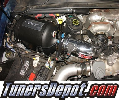 Injen® Power-Flow Cold Air Intake (Polish) - 08-10 F-250 F250 Super Duty 6.4L V8 (w/ Power-Box)