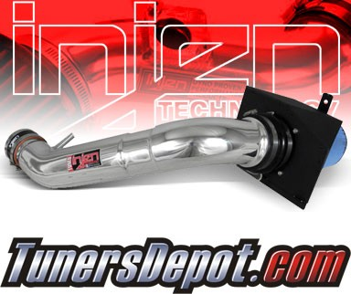 Injen® Power-Flow Cold Air Intake (Polish) - 09-10 Ford F-150 F150 4.6L V8 (2v) (w/ Heat Shield)
