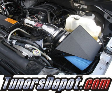 Injen® Power-Flow Cold Air Intake (Polish) - 09-10 Ford F-150 F150 4.6L V8 (3v) (w/ Heat Shield)