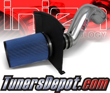 Injen® Power-Flow Cold Air Intake (Polish) - 09-13 GMC Sierra 6.0L V8 (w/ Heat Shield)