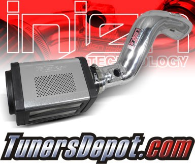 Injen® Power-Flow Cold Air Intake (Polish) - 09-13 GMC Sierra 6.2L V8 (w/ Power-Box)