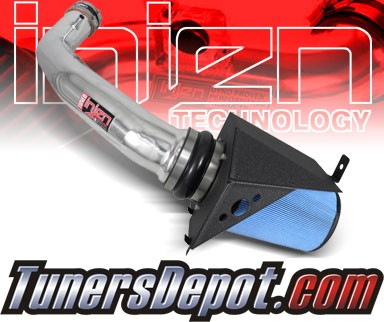 Injen® Power-Flow Cold Air Intake (Polish) - 10-11 Ford F-150 F150 Raptor 6.2L V8 (w/ Air-Box)