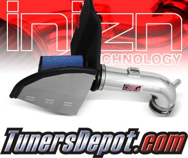 Injen® Power-Flow Cold Air Intake (Polish) - 10-12 Chevy Camaro 6.2L V8