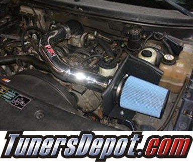 Injen® Power-Flow Cold Air Intake (Polish) - 2005 Ford Expedition 5.4L V8 (w/ Heat Shield)