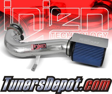 Injen® Power-Flow Cold Air Intake (Polish) - 2011 Ford Mustang GT 5.0L V8 MT (w/ Heat Shield)