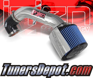 Injen® Power-Flow Cold Air Intake (Polish) - 91-01 Jeep Cherokee 4.0L L6 (w/ Heat Shield)
