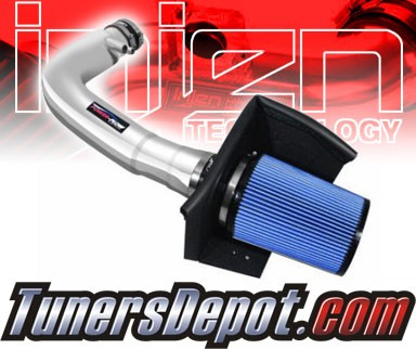 Injen® Power-Flow Cold Air Intake (Polish) - 97-04 Ford Expedition 4.6L/5.4L V8 (w/ Heat Shield)
