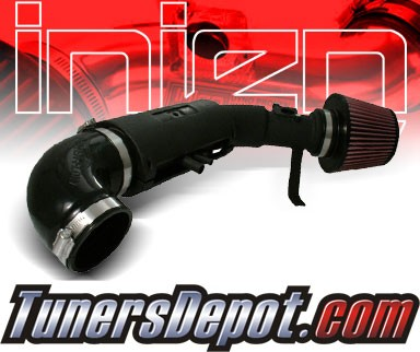 Injen® Power-Flow Cold Air Intake (Wrinkle Black) - 00-04 Toyota Tundra 4.7L V8