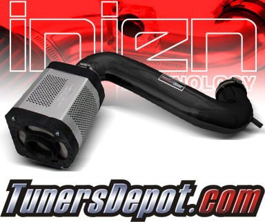 Injen® Power-Flow Cold Air Intake (Wrinkle Black) - 03-08 Dodge Ram Pickup 5.7L V8 (w/ Power-Box)
