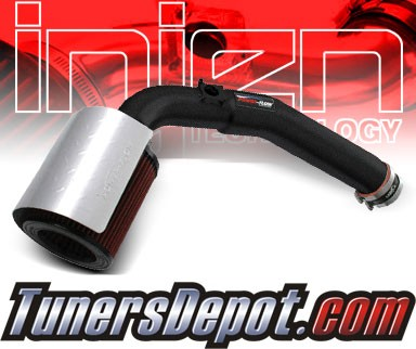Injen® Power-Flow Cold Air Intake (Wrinkle Black) - 04-06 Chevy Colorado 3.5L 5cyl