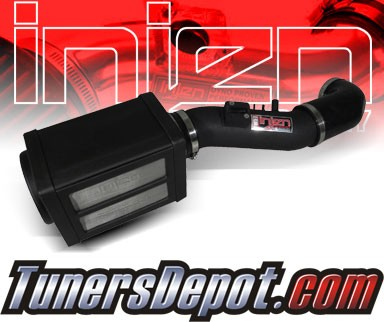 Injen® Power-Flow Cold Air Intake (Wrinkle Black) - 05-06 Toyota Tundra 4.7L V8 (w/ Power-Box)