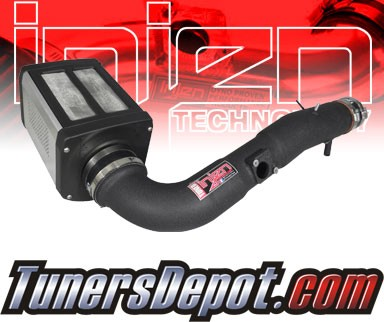 Injen® Power-Flow Cold Air Intake (Wrinkle Black) - 06-09 Toyota FJ Cruiser 4.0L V6 (w/ Power-Box)