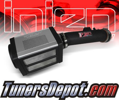 Injen® Power-Flow Cold Air Intake (Wrinkle Black) - 07-10 Toyota Tundra 5.7L V8 (w/ Power-Box)