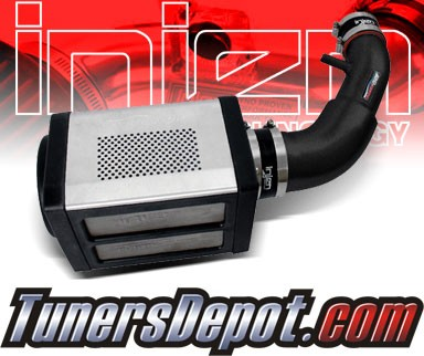 Injen® Power-Flow Cold Air Intake (Wrinkle Black) - 07-11 Jeep Wrangler 3.8L V6 (w/ Power-Box)