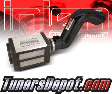 Injen® Power-Flow Cold Air Intake (Wrinkle Black) - 09-11 GMC Sierra Denali 6.0L V8
