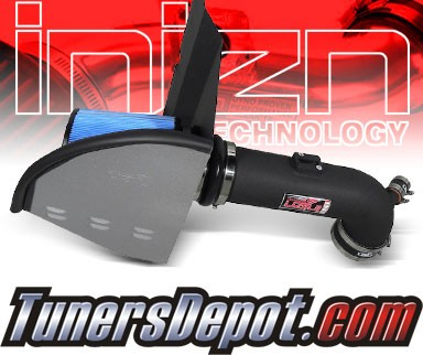 Injen® Power-Flow Cold Air Intake (Wrinkle Black) - 10-12 Chevy Camaro 6.2L V8