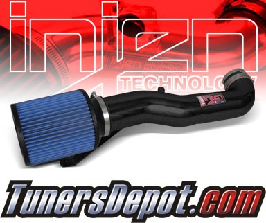Injen® Power-Flow Cold Air Intake (Wrinkle Black) - 12-14 Jeep Wrangler 3.6L V6