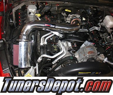 Injen® Power-Flow Cold Air Intake (Wrinkle Black) - 2006 Mitsubishi Raider 4.7L V8