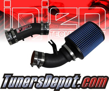 Injen® Power-Flow Cold Air Intake (Wrinkle Black) - 96-98 Toyota 4Runner 4-Runner 3.4L V6