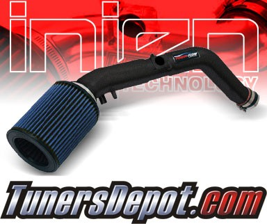 Injen® Power-Flow Cold Air Intake (Wrinkle Black) - 97-99 Toyota Tacoma 2.4L 4cyl