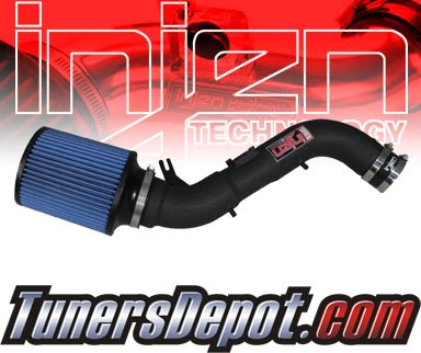 Injen® Power-Flow Cold Air Intake (Wrinkle Black) - 99-04 Toyota Tacoma 3.4L V6